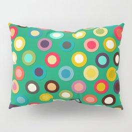 green pop spot Pillow Sham