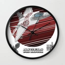 F22 RAPTOR (A) Wall Clock