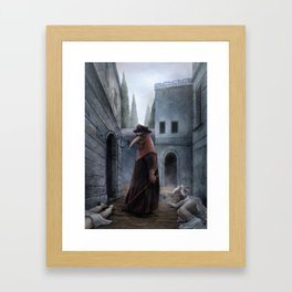 Plague Framed Art Print