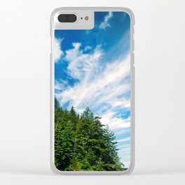 Long Island, Washington Sky Clear iPhone Case