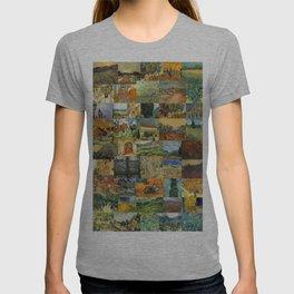 Vincent van Gogh Montage T-shirt