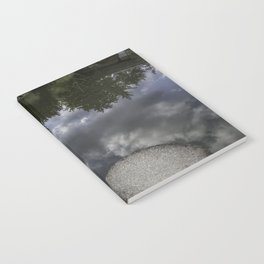 stepping stones; pathway through the clouds Notebook