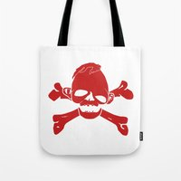 goonies Tote Bags featuring Goonies Never say die Red by Komrod