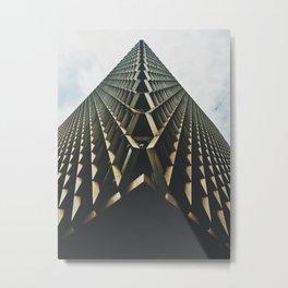 Continuum Metal Print