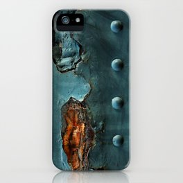 Fragments of Time: Iron Horse Series No. 017 iPhone Case