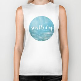 Seas The Day Biker Tank