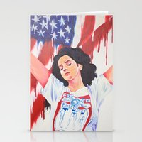 the national Stationery Cards featuring National Anthem by MariaBertosh