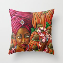 The Charmer Throw Pillow