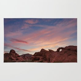 Arch Rock Sunset, Valley of Fire - I Rug