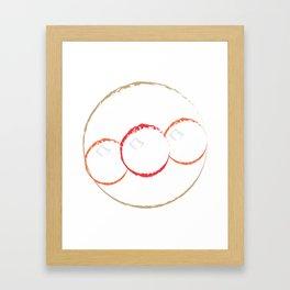 anpanman Framed Art Print