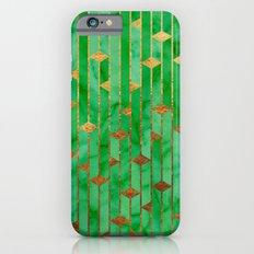 Green Marble Skyscrapers iPhone 6s Slim Case