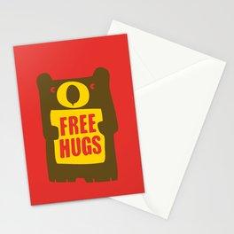 Free bear hugs Stationery Cards
