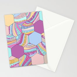 BRAIDSHEXSUMMER Stationery Cards