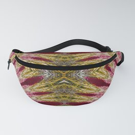 Seamless Kaleidoscope Colorful Pattern XII Fanny Pack