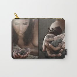 black beach (double) Carry-All Pouch