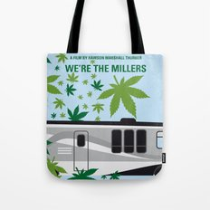 No763 My We are the Millers minimal movie poster Tote Bag