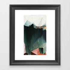 BRKNRFLCTN Framed Art Print