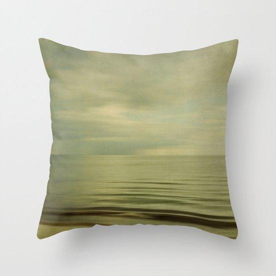 sea square XI Throw Pillow