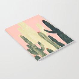 pink growing cactus Notebook