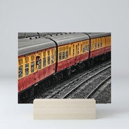 Waiting For A Train Mini Art Print