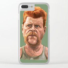 Abraham Ford Clear iPhone Case
