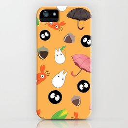 Let's meet the forest god iPhone Case