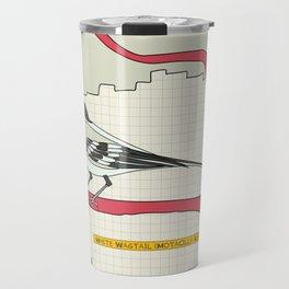 White Wagtail Travel Mug