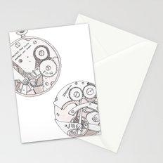 Pocket Watch Stationery Cards