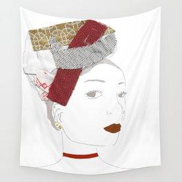 Brune Fillette Wall Tapestry