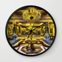 Vincent Van Gogh Palace Wall Clock