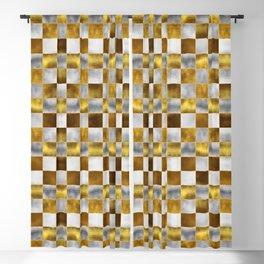 Checkered Pattern IX Blackout Curtain