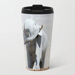 NAMIBIA ... Elephant fun I Travel Mug