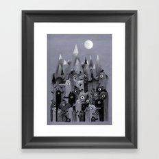 Nightbears Framed Art Print