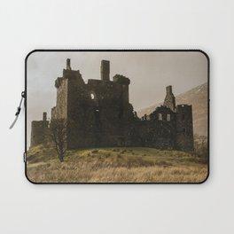 Golden hour at Kilchurn Castle Laptop Sleeve