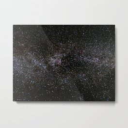Milky Way Stars Metal Print