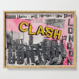 Clash - Vintage Poster Serving Tray