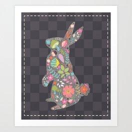 Spring Buny Art Print