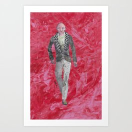 Collage Collection - Ronald Art Print