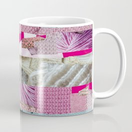 Trans Pride Flag Collage Coffee Mug