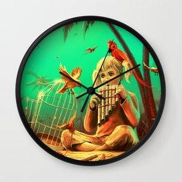 Set Them Free Wall Clock