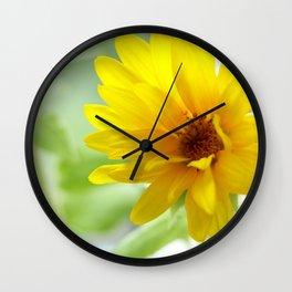 Sunshine Flower Wall Clock