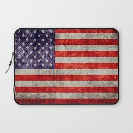 Antique American Flag Laptop Sleeve
