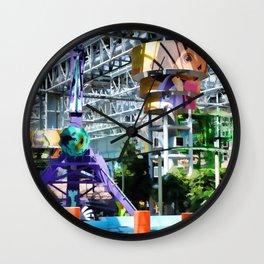 Permanent amusement park Wall Clock