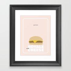 Pulp Fiction Movie poster Framed Art Print