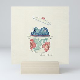 Crockpot Pun Mini Art Print