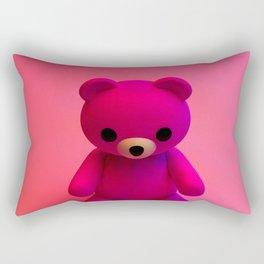 Pink Little Bear Rectangular Pillow