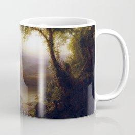 Frederic Edwin Church Tropical Scenery Coffee Mug