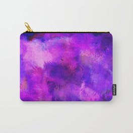 Ultra Violet Paint Abstract Carry-All Pouch