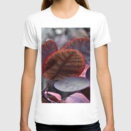 Bleeding Red Leaves T-shirt