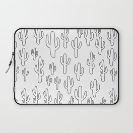 Cactus in White Palette Laptop Sleeve